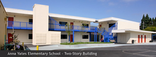 Anna Yates Elementary School - Two-Story Building