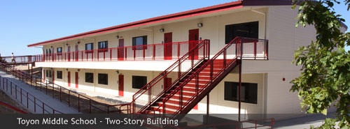 Toyon Middle School - Two-Story Building
